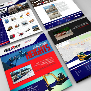 Airone Equipment Rentals Website