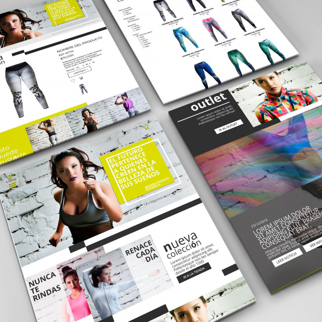 Web Design Viana Fashion