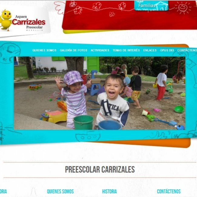 Sitio Web Preescolar Carrizales