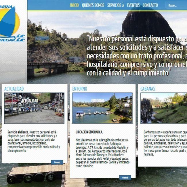 Sitio Web Marina Navegar