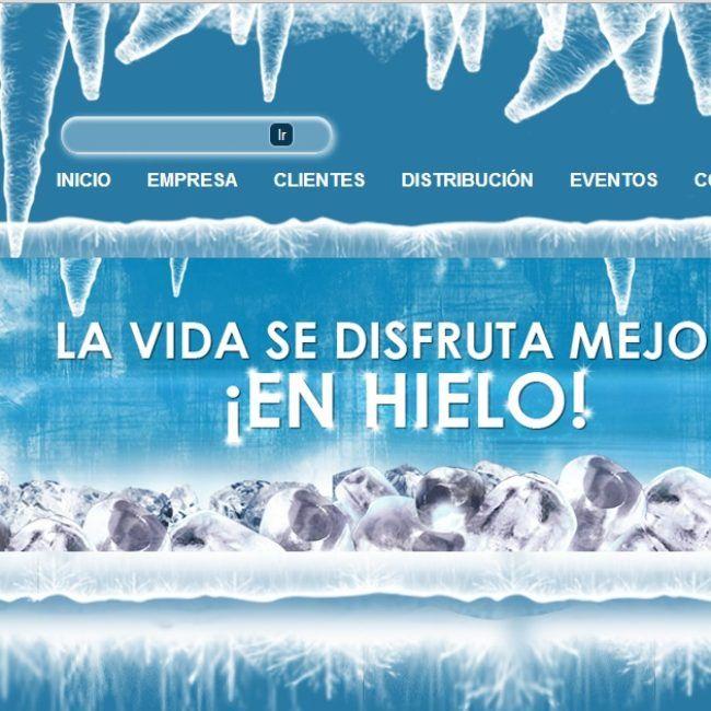 Pagina web Hielo Iglu