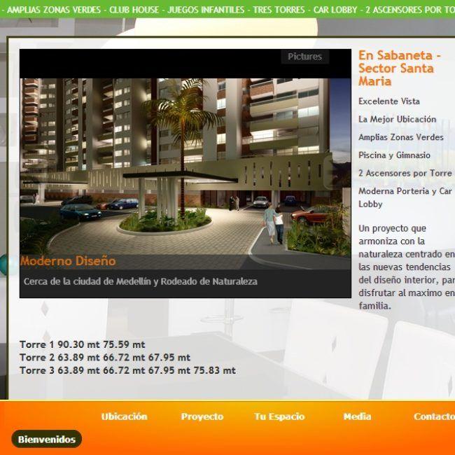 Sitio Web Loma linda apartamentos