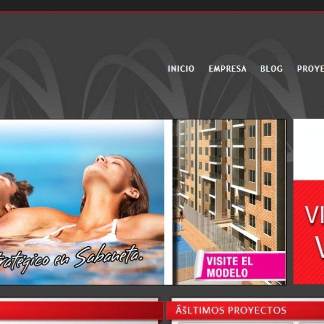 Sitio Web Constructora Valoriza