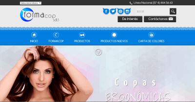 pagina web formacop