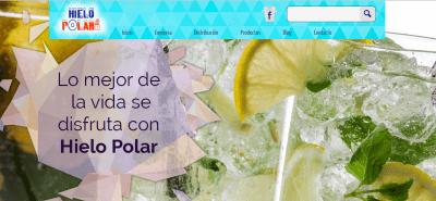 pagina web hielo polar