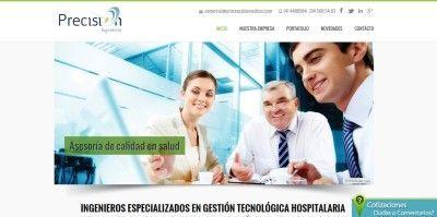 pagina web precision
