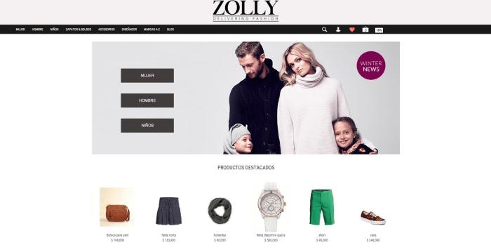 99562b9be Página Web Zolly