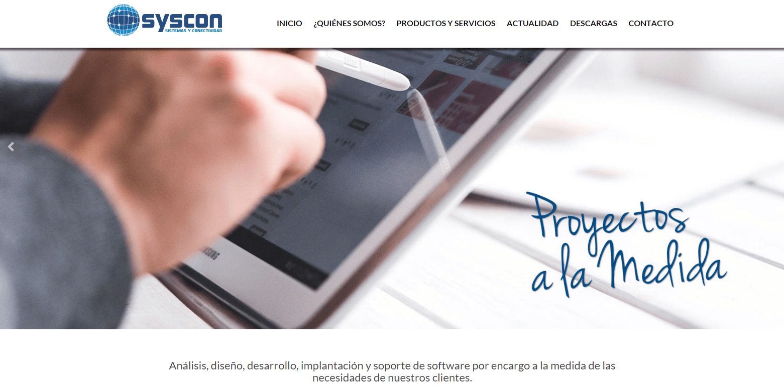 sitio web syscom