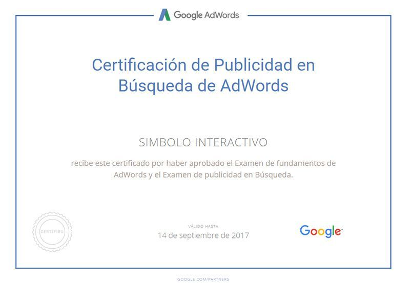 certificado-de-google-adwords-de-simbolo-interactivo