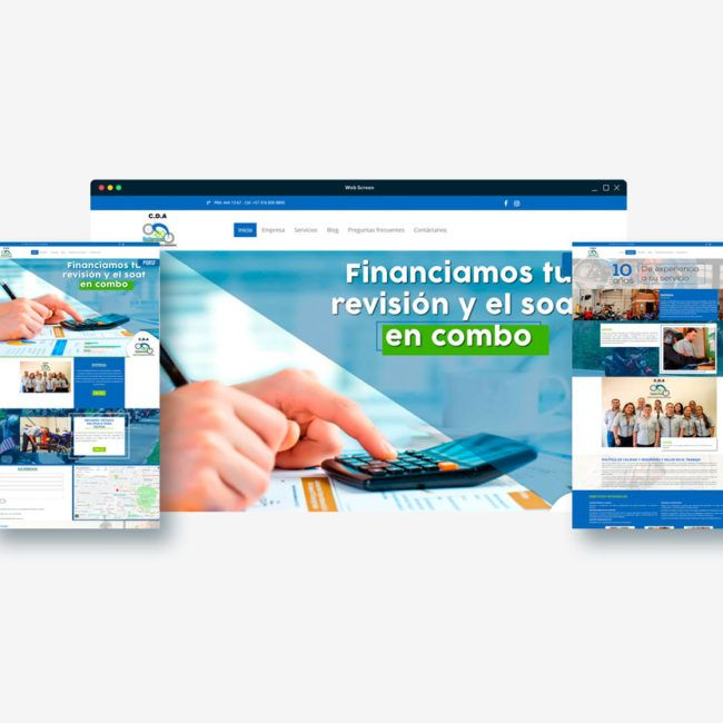 Diseño web Cda la 80 Mediterráneo