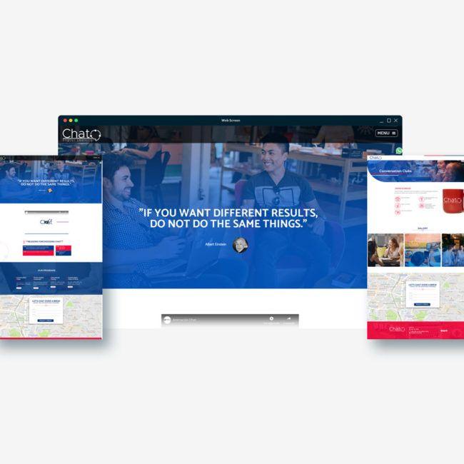 Diseño web CHAT