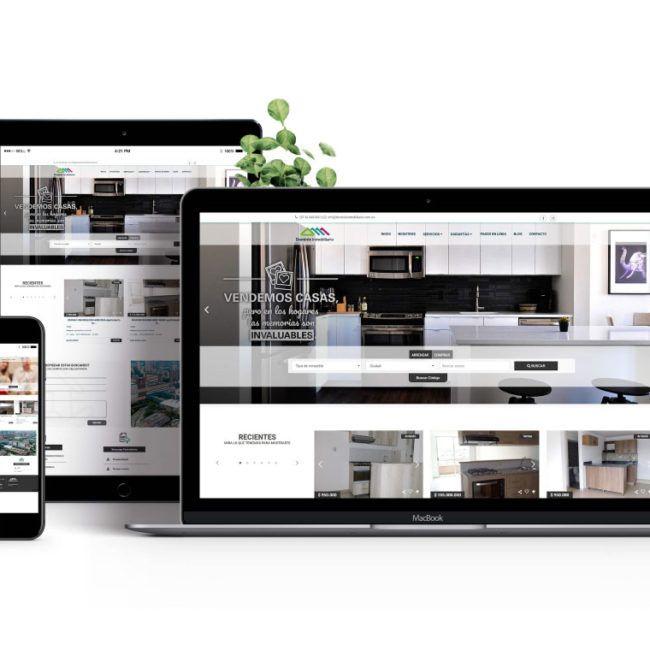 Diseño web Dominio Inmobiliario