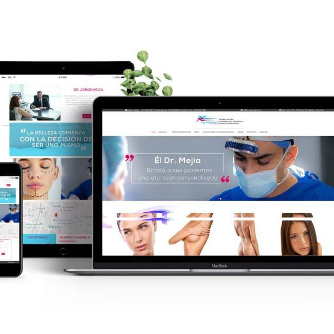 Diseño web Dr. Jorge Mejía