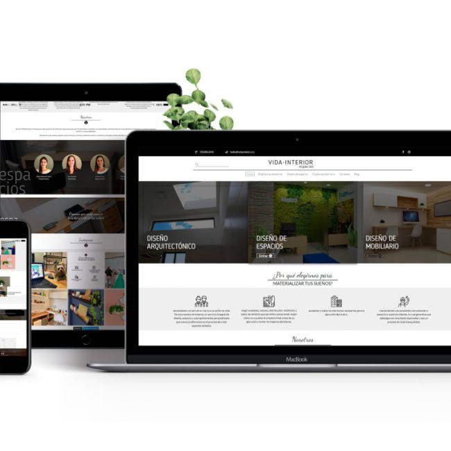 Diseño web Vida Interior