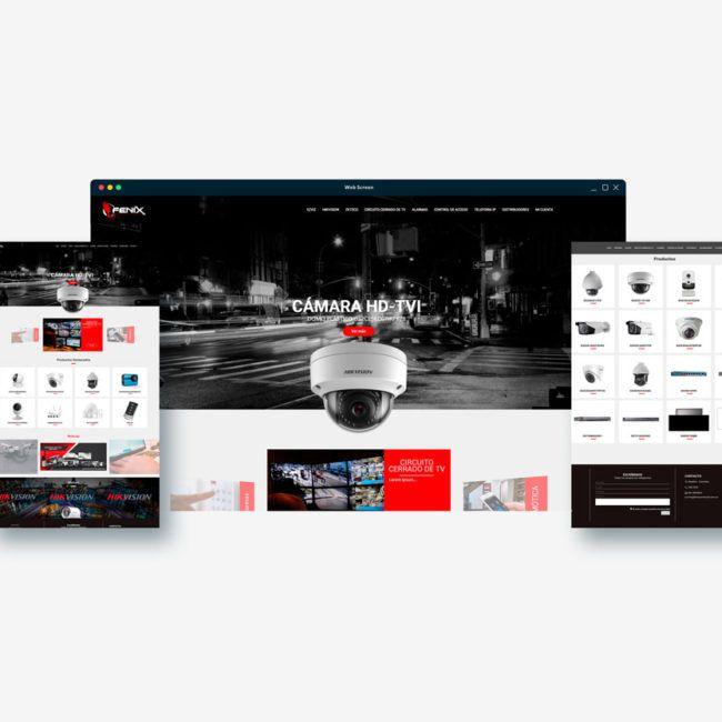 Diseño web FENIX