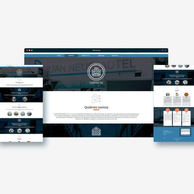 Diseño web Educación Neustadtel