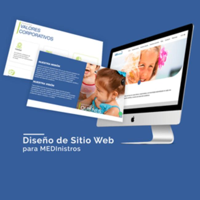 Sitio web Medinistros