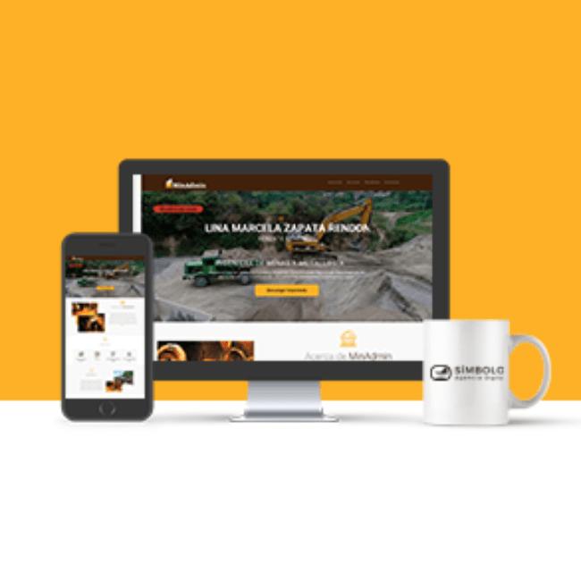 Sitio web MinAdmin