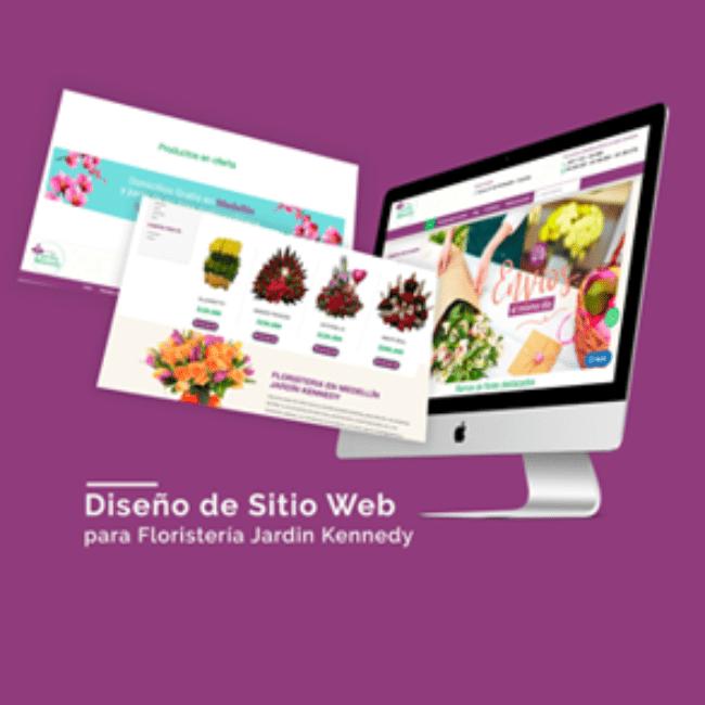 E-Commerce Floristería Jardín Kennedy