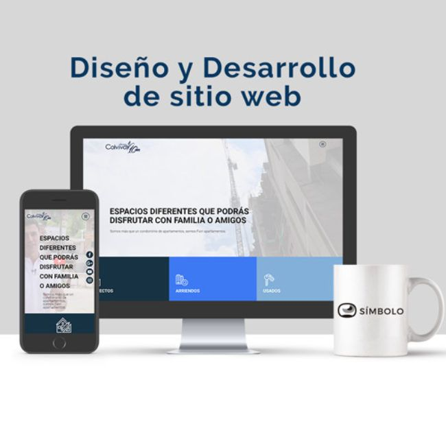 Diseño web Grupo Colviva