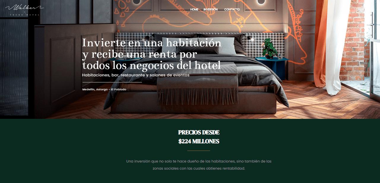 sitio web realizado por símbolo Agencia Digital